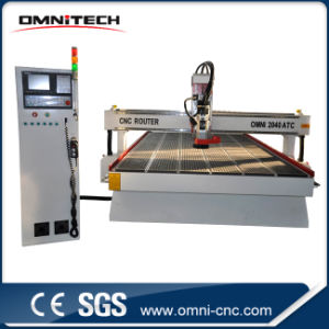 Hina Wholesales Big Woodworking CNC Router Linear Atc CNC Router