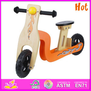 2014 Hot Sale High Quality Wooden Road Bike, Wooden Balance Road Bike, New Fashion Kids Road Bike W16c056 pictures & photos
