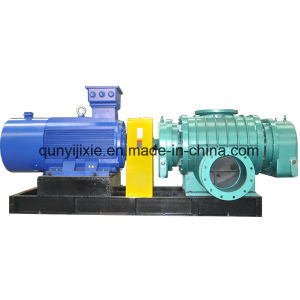 High Efficiency Low Noise Roots Blower for Auxiliary Combustion