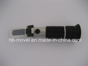 Portable Sugar Refractometer 0-32 Brix Aluminium Head Rubber Grip Design with Atc pictures & photos