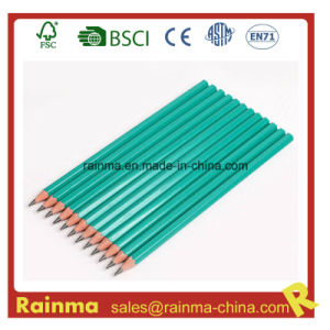 Plastic Hb Pencil with Un-Broken Pencil Lead pictures & photos