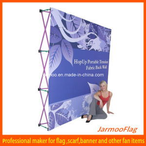 Straight Fabric Pop up Banner pictures & photos