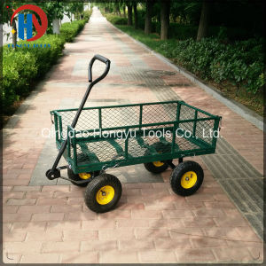 Tc1840A 300kgs Capacity Mesh Garden Tool Cart pictures & photos