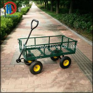 Tc1840A 300kgs Capacity Mesh Garden Tool Cart pictures & photos