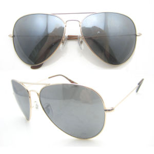 Metal Aviater Frame Sunglasses with Revo Polarized Lens pictures & photos