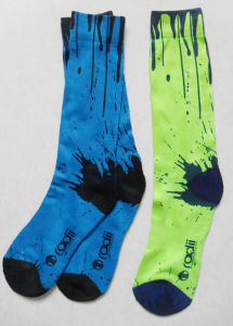 Half Print Basketball Custom Sublimation Sock pictures & photos