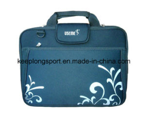 "Customized and Waterproof Neoprene Laptop Bag for 15"" Laptop with Nice Flap pictures & photos"