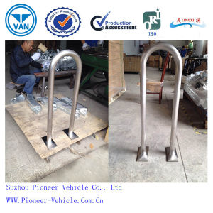 Most Popular Stainless Steel Outdoor Rail Bike Rack (PV-U1) pictures & photos