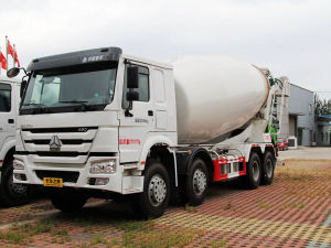 16cbm Sinotruk HOWO 8X4 Mixer 371 HP Concrete Mixer Truck 10m3