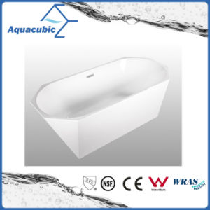 Bathroom Pure Acrylic Seamless Freestanding Bath Tub (AB6513) pictures & photos