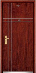 Steel Wooden Door (JC-A015) pictures & photos