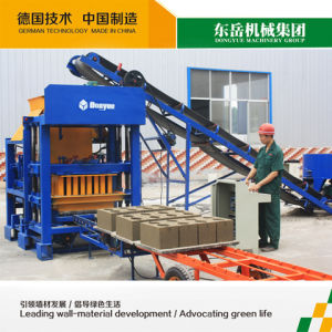 Cement Brick Making Machine India Qt4-25 Dongyue pictures & photos