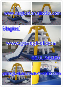 High Quality Tower Inflatable Floating Water Slide Inflatable Water Slide (MIC-062) pictures & photos