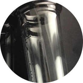 Clear and Transparent Smoking Water Pipe pictures & photos