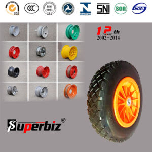 European Standard Big Teeth Solid Tire (3.50-8) pictures & photos