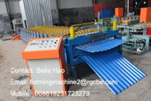 Save Space Double Layer Industrial Roofing Roll Forming Machine pictures & photos