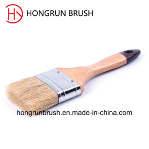 Wooden Handle Bristle Paint Brush (HYW009) pictures & photos