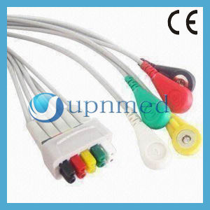 Cable Ge-Marquette 5-Lead ECG Cable Lead Wires pictures & photos