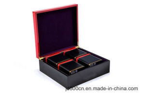 New Design High Glossy Wooden Tea Box/Wood Tea Packaging Box/Wooden Gift Box Jd-Tb023 pictures & photos