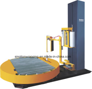 Pre-Stretch Pallet Online Stretch Wrapping Machine 2017 pictures & photos