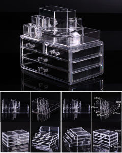 Cosmetic Organizer Makeup Drawers Display Box Acrylic Cabinet Case pictures & photos