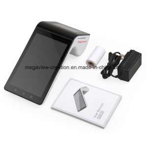 Handheld 7 Inch Tablet Android POS Terminal with Printer pictures & photos