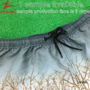 100% Polyester Man Sublimation Beach Swim Shorts pictures & photos