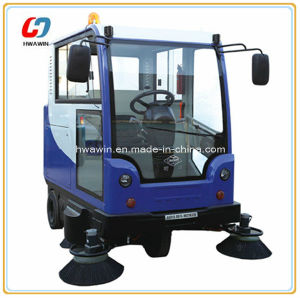 Electric Floor Cleaning Machine Road Sweeper pictures & photos