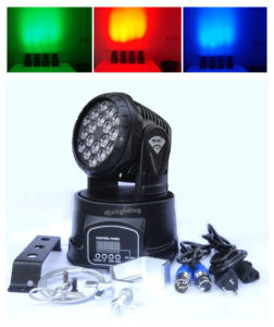 18X3w LED Moving Head Stage Wash Club Party DJ Show Lighting pictures & photos