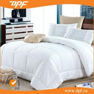 Pure Cotton Fabric White Duck Down Duvet Comforter Queen Size pictures & photos