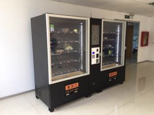 Automatic Vegetable/Salad/Egg/Fruit Vending Machine with Elevator Zg-D900-11L (22SP) pictures & photos