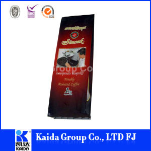 Plastic Food Packaging Aluminum Gusset Coffee Bag pictures & photos