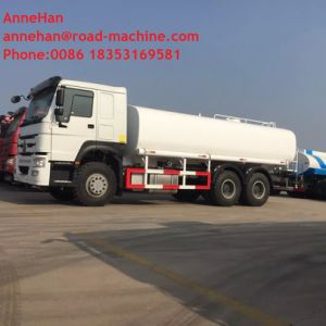 Sinotruk HOWO Water Tank Truck 4X2 10m³ Tank Volume with Pipes pictures & photos