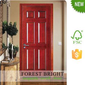 Rustic Modern Syle Kitchen Cabinet Natural Engineer Veneer Molded Door pictures & photos
