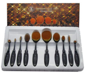 Makeup Brush Set Elegant Luxury Package Toothbrush pictures & photos