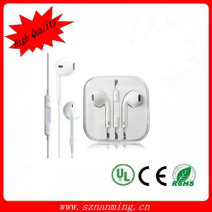 Hot Sale Original for iPhone /iPad Wire Control Earphones pictures & photos