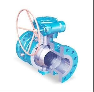 Aluminum Alloy Die Casting Maunal Valve with Flange