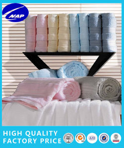 100% Cotton 350GSM Solid Bamboo Satin Towel