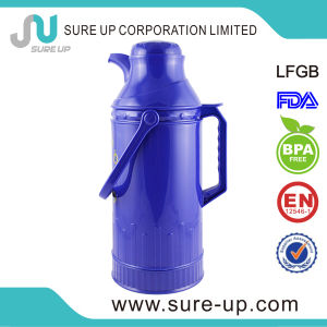 Colorful Glass Inner Vacuum Flask Coffee Tea Jug (JGGP) pictures & photos