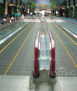 Passenger Conveyor Moving Walk Double Drive pictures & photos