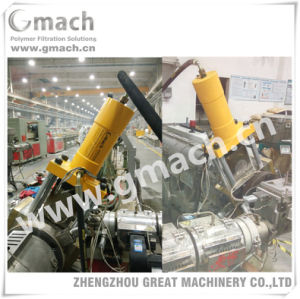 Hydraulic Screen Changer for Rigid PVC Profile Extrusion Line pictures & photos