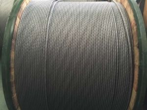 as Strand Wire for Aluminium (alloy) Conductor Aluminium Clad Steel Reinforced of 1+6 pictures & photos