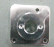 CNC Machining Part (Aluminum Block) in Clear Anodizing pictures & photos