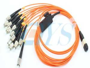 Sinelmode Female MPO- Sc Fiber Optic Patch Cord pictures & photos