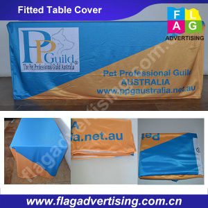 Full Color Digital Printing Custom Trade Show Table Throw