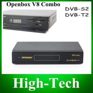 Original Openbox V8 Combo Satellite Receiver DVB-S2+DVB-T2 Support Cccamd Newcamd Youtube Youporn Google Map USB WiFi Dlna