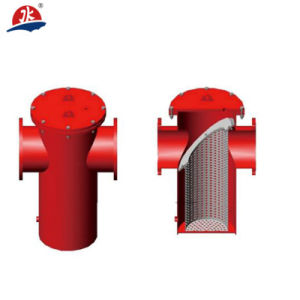 """24"""" Dn600 Manual L Shaped Pipeline Self Cleaning Filter pictures & photos"""