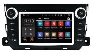 GHz Car DVD GPS Navigation Android 5.1/1.6 for Smart Fortwo Car Audio with WiFi Connection pictures & photos