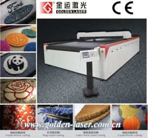 Laser Carpet Cutting Machine/Logo Mat, Floor Carpet Laser Engraver Machine
