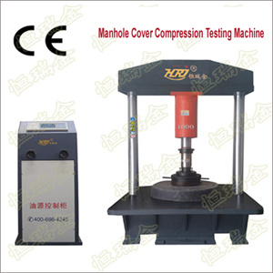 Digital Display Well Cover Compression Testing Machine